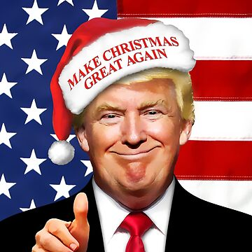Trump Christmas by doggination