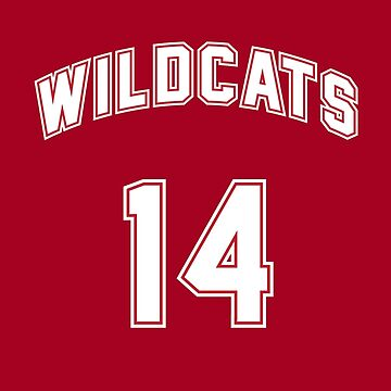 Troy Bolton 14 East High School Wildcats Basketball Team 3 by hanelyn