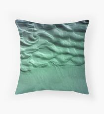 Coloured Sand Throw Pillow