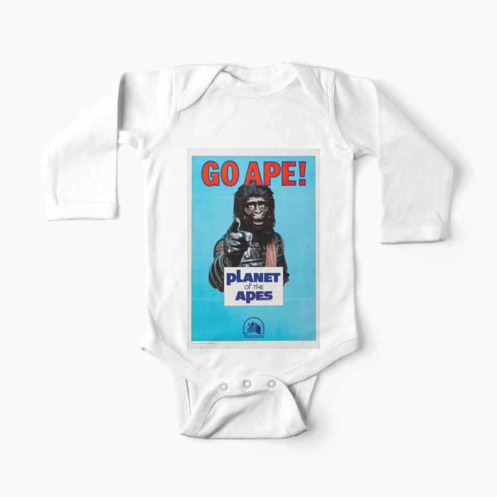 Go Ape Planet of the Apes Movie Poster Iron On Tee T-Shirt Transfer A5