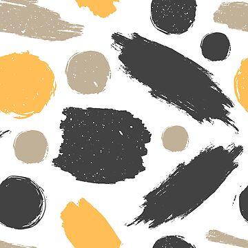 Ink splashes pattern by nastybo