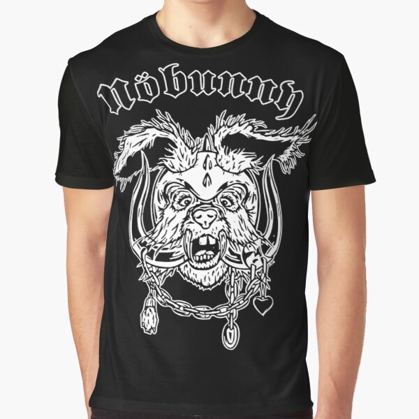 Nobunny Rock In Land Graphic T-Shirt