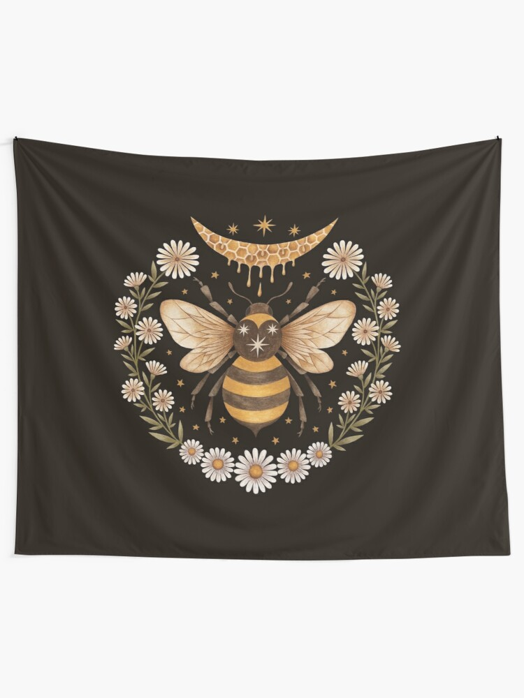 Alternate view of Honey moon Wall Tapestry