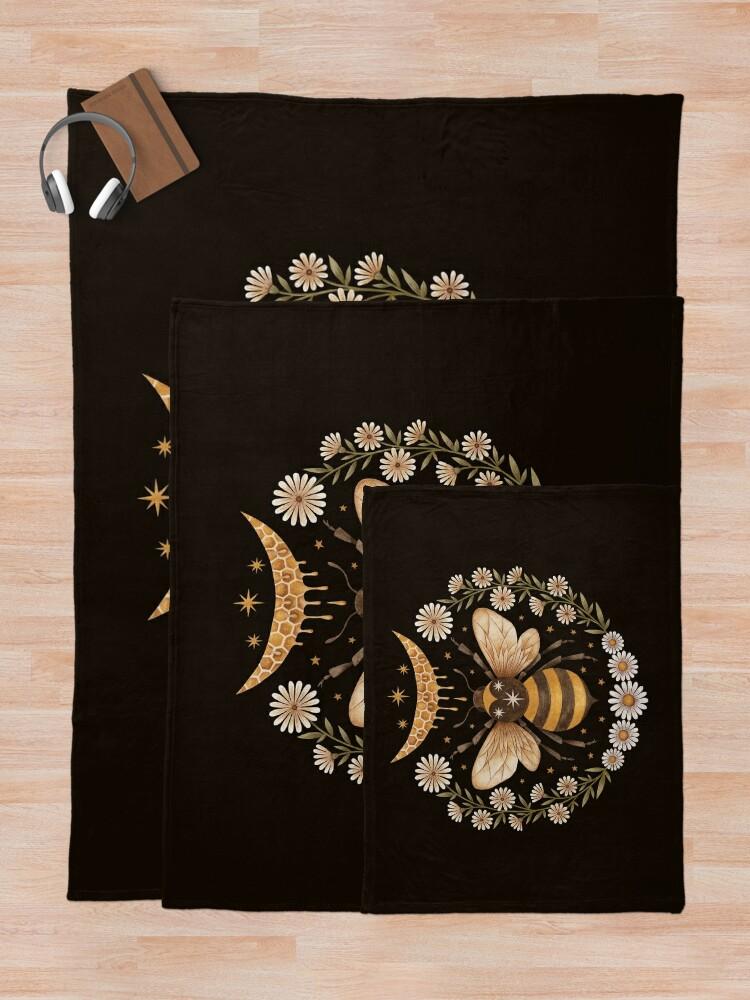 Alternate view of Honey moon Throw Blanket