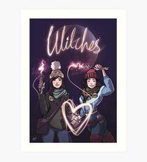 Broad City Abbi & Ilana 'Magical Queens' Fan Art - Witches! Art Print