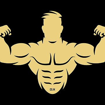 Bodybuilder (Bodybulding / Biceps / Athletic Sports / Beige) by MrFaulbaum