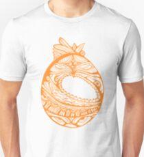 Orange Faberge Egg Henna Unisex T-Shirt