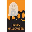 Happy Halloween BOO Design by sigdesign