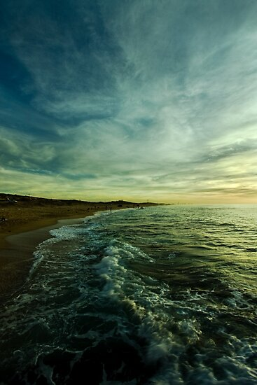 where water and sky meet by Victor Bezrukov