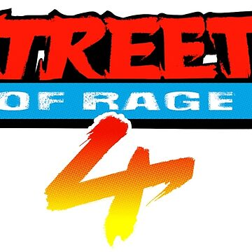 Streets of Rage 4 Logo by felixthekarl