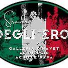 Strada Degli Eroi Italian Alps T-Shirt & Sticker by ROADTROOPER