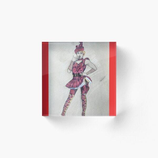 Robin Hood Angel Kinky Boots Acrylic Block