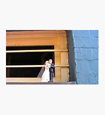 Cake Topper Abandoned on Window Sill of the House of Sufism Photographic Print