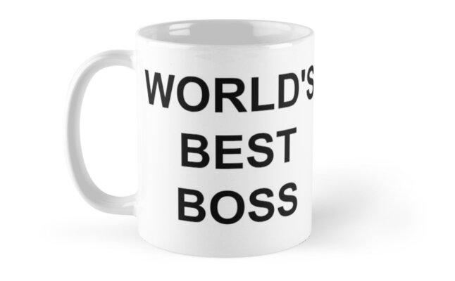 The Office Michael Scotts Worlds Best Boss Mug Mugs By