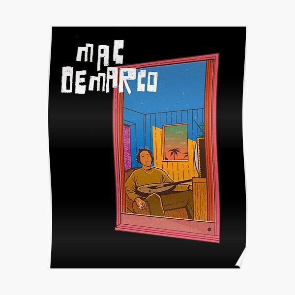 Fenêtre Mac Demarco Poster