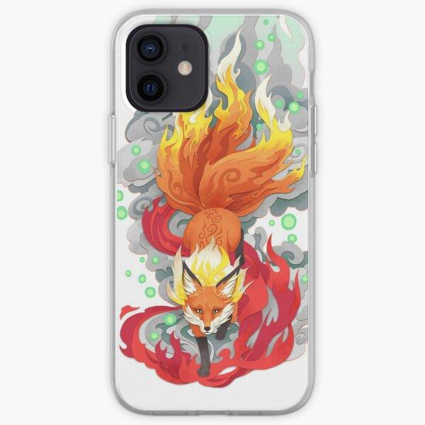 Fox Fire iPhone Soft Case
