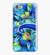Peacock in Full Bloom iPhone Case/Skin