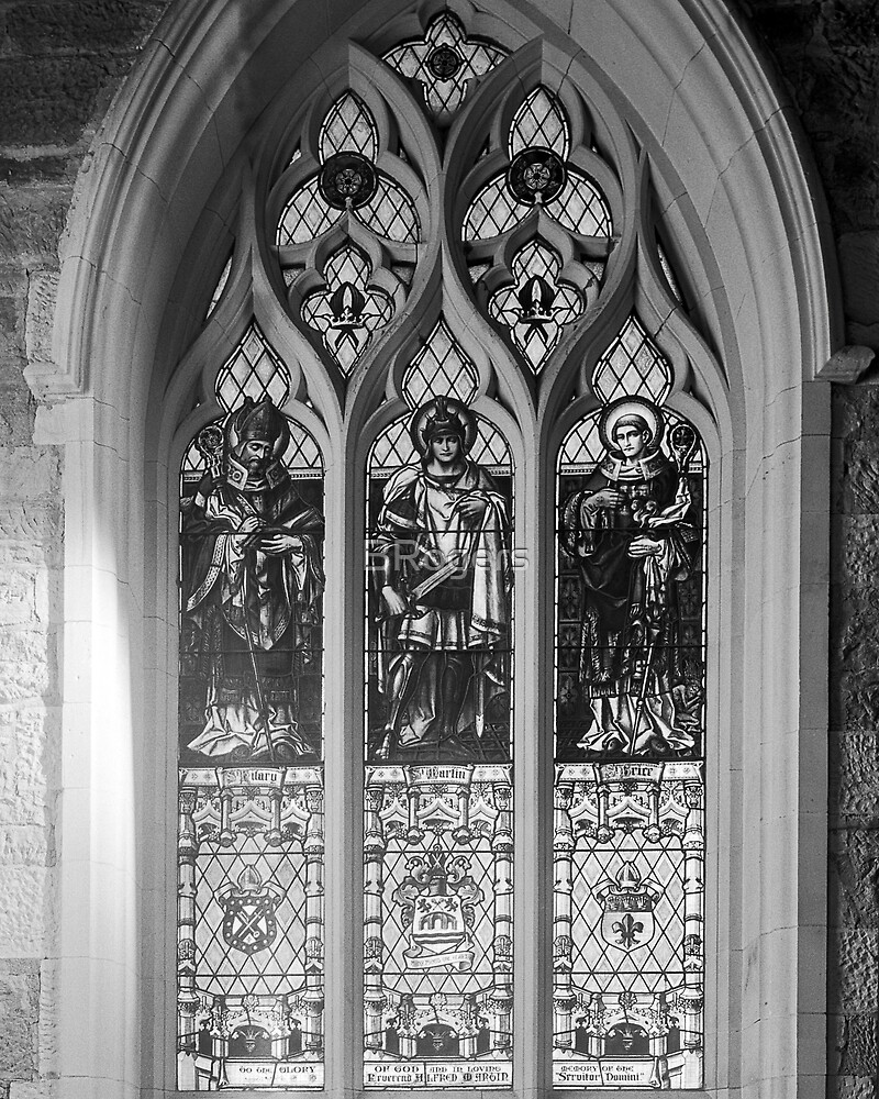 Window of St Hilary St Martin & St Brice by BRogers