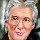 portrait of Richard Gere by Hidemi Tada