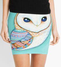 Tribal Pattern Barn Owl Mini Skirt