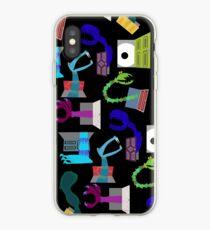Vinilo o funda para iPhone Monstruos en Closets