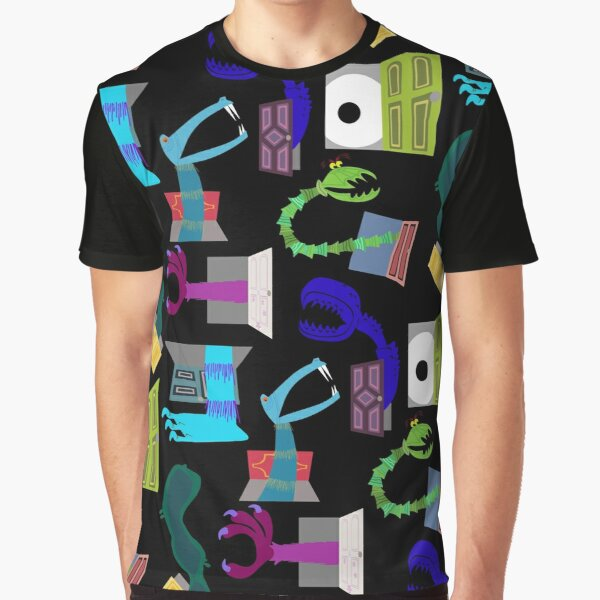 Monsters in Closets Graphic T-Shirt