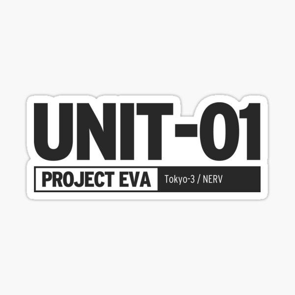UNIDAD 01 PROYECTO EVA | Neon Genesis Evangelion Pegatina