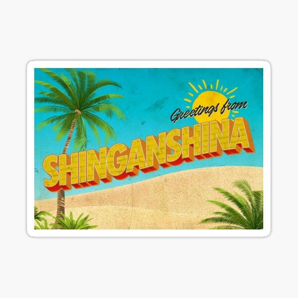 Greetings from Shinganshina | Attack on Titan Sticker