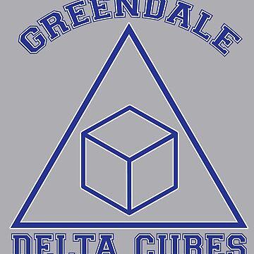 Greendale Delta Cubes Frat by rexraygun