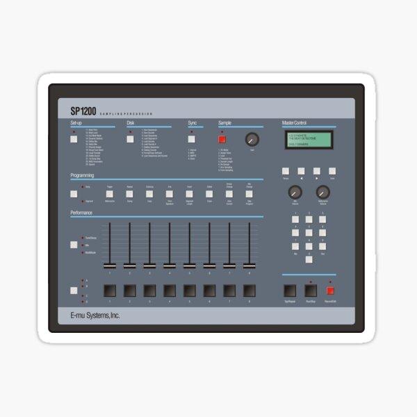 SP1200 Sampling Percussion Sticker