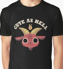 Cute As Hell Graphic T-Shirt