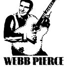 WEBB PIERCE COUNTRY MUSIC STAR SUPER COOL T-SHIRT by westox