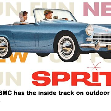AUSTIN HEALEY SPRITE / MG MIDGET by ThrowbackMotors
