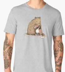 Grizzly Hugs Men's Premium T-Shirt