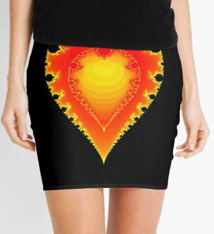 Inverted Mandelbrot I Mini Skirt