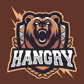 Team Hangry Bear by artlahdesigns