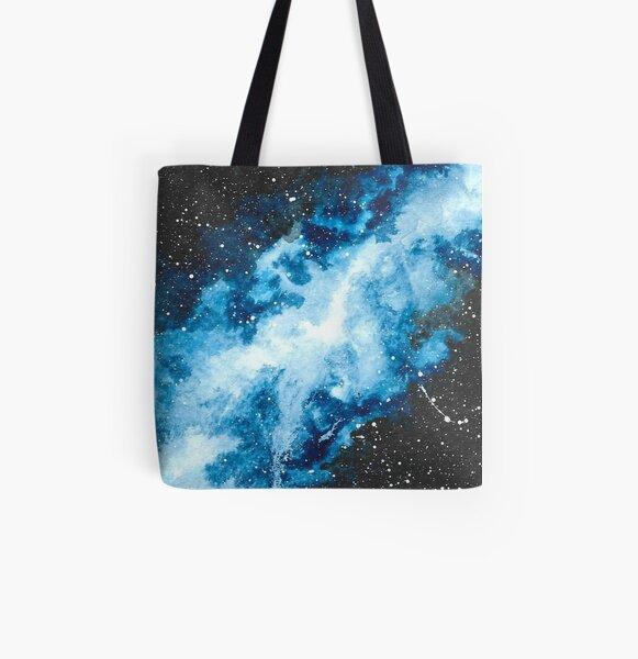 Watercolour Galaxy II All Over Print Tote Bag