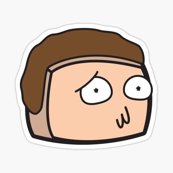 Morty - Rick and Marty Boxheadz Dimension Sticker
