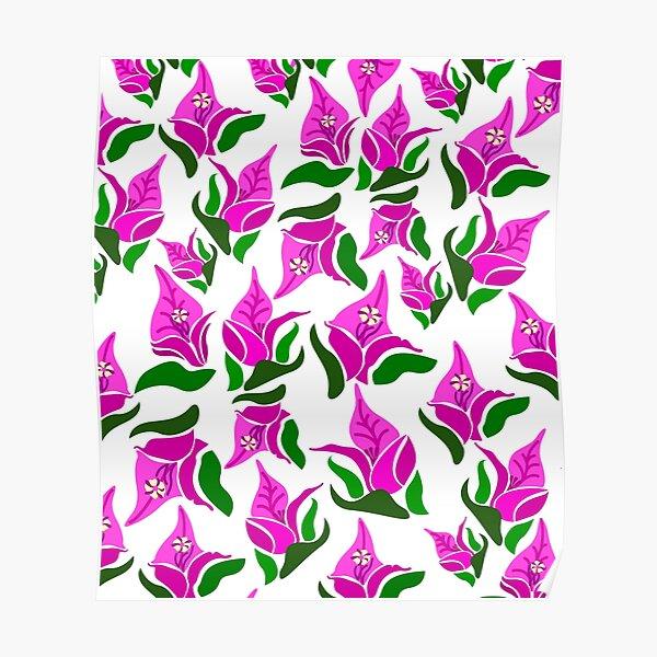 flower bougainvillea Poster