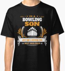 Bowling Son Christmas Gift or Birthday Present Classic T-Shirt