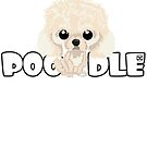 Poodle (Apricot) - DGBigHead by DoggyGraphics