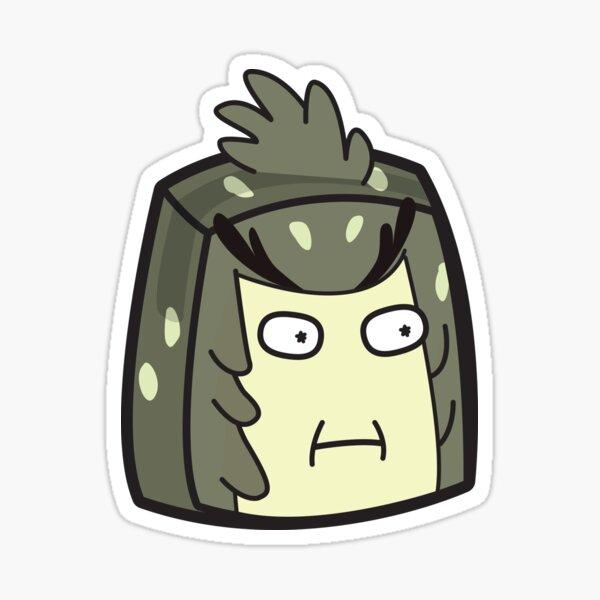 Bird Person - Rick and Morty Boxheadz Dimension Sticker
