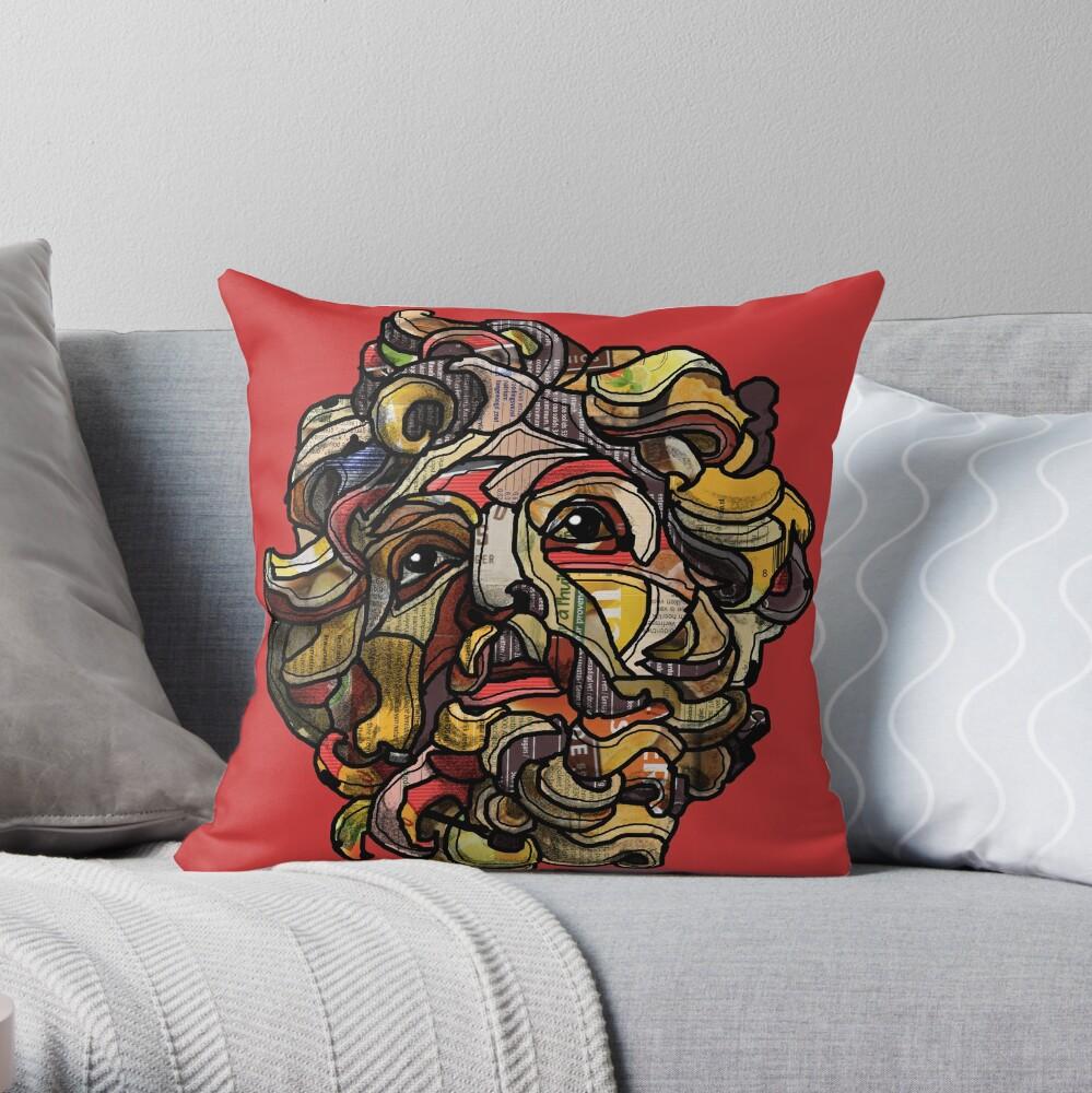 St Longinus Throw Pillow