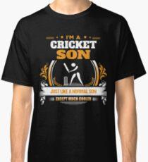 Cricket Son Christmas Gift or Birthday Present Classic T-Shirt