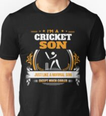 Cricket Son Christmas Gift or Birthday Present Unisex T-Shirt
