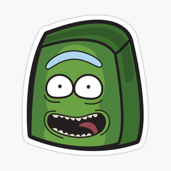 Pickle Rick - Rick and Morty Boxheadz Dimension Sticker