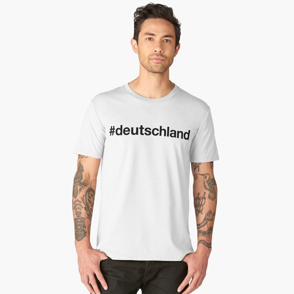 GERMANY Men's Premium T-Shirt Front
