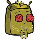 Krombopulos Michael - Rick and Morty Boxheadz Dimension by Justin Fidencio