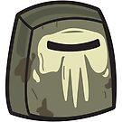 Hemorrhage - Rick and Morty Boxheadz Dimension by Justin Fidencio
