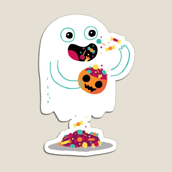 Ghost Candy Magnet